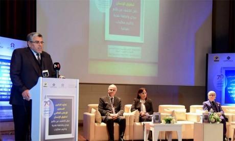 Hommage aux militants Latifa Jbabdi et Habib Belkouch en reconnaissance de leur contribution à la promotion des droits de l'Homme