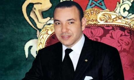 S.M. le Roi offre un déjeuner en l'honneur des participants à la Conférence intergouvernementale sur la migration