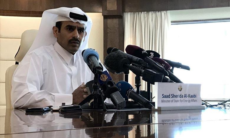 Saad Al-Kaabi : «Nous n'avons pas beaucoup de potentiel (dans le pétrole). Notre potentiel, c'est le gaz». Ph : AFP