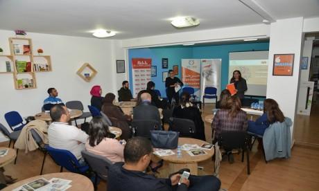 En partenariat avec l'espace de co-working GO4Work, la Fondation Attijariwafa bank a initié un afterwok interactif.