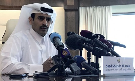 «Nous n'avons pas beaucoup de potentiel dans le pétrole, nous sommes très réalistes. Notre potentiel, c'est le gaz», a souligné le ministre qatari de l'Énergie, Saaad Al-Kaabi