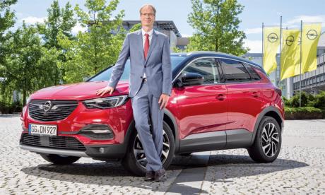 Michael Lohscheller, CEO d'Opel, promet qu'«Opel sera électrique».
