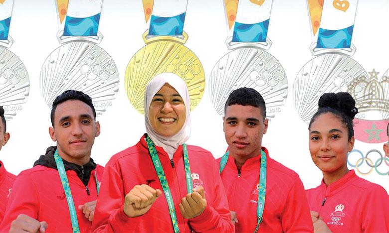 Ce que vont toucher les médaillés marocains  aux Jeux olympiques de la jeunesse
