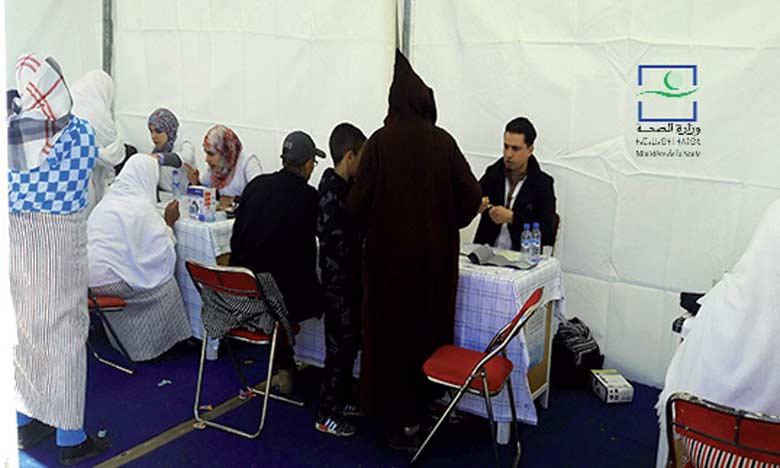L'opération Riaya vise à fournir les soins nécessaires et à répondre aux besoins en services de santé  au profit des personnes touchées par les vagues de froid dans la province.