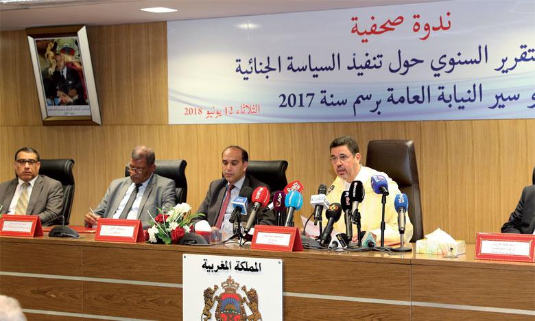 Le ministère public publie son premier rapport  sur la politique pénale