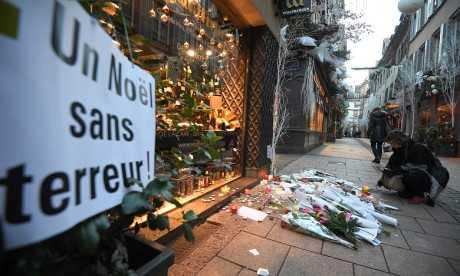 Attentat de Strasbourg: le tireur toujours en cavale