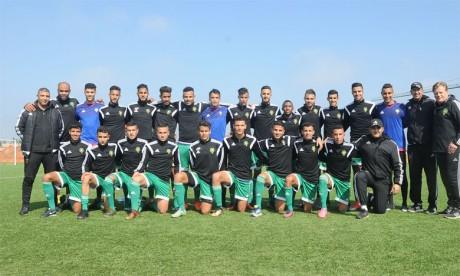 Le Maroc U23 se teste face  à la Gambie