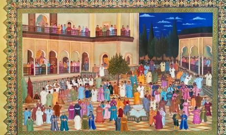 Des œuvres de Abdelhay Demnati au B&S Art Gallery