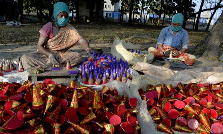 Inde: Explosion mortelle dans une usine de pétards
