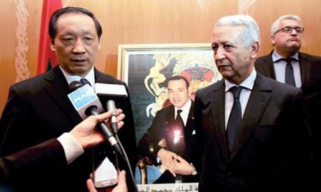 Le Maroc et la Chine veulent renforcer leur coopération  dans le domaine touristique