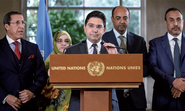 Le Maroc, l'Algérie, la Mauritanie et le polisario ont repris langue directement dans le cadre d'une table ronde à Genève les 5 et 6 décembre. Ph. AFP