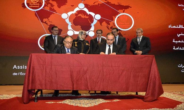 L'Office de développement de la coopération a signé quatre conventions avec différents partenaires. Ph. DR