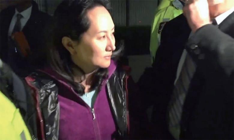 La directrice financière de Huawei est libérée sous caution
