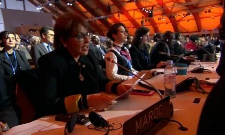 Hakima El Haite élue à Dakar présidente
