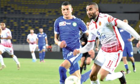 Le WAC défend son leadership à Khouribga,  l'IRT pour une 1re victoire à domicile