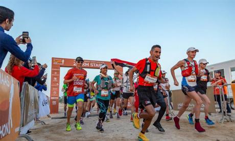 Rachid El Morabity remporte  le plus long marathon au monde