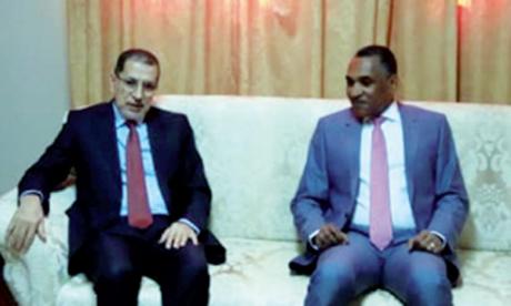 Le Chef du gouvernement s'entretient à Nouakchott avec son homologue mauritanien