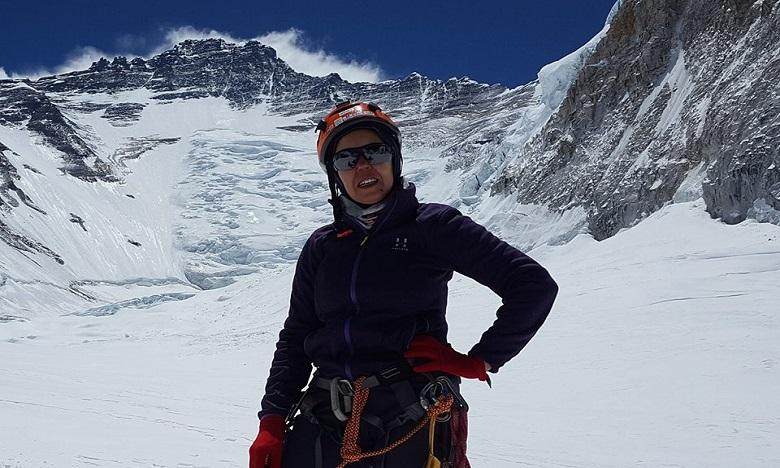 Bouchra Baibanou entame sa conquête du Mont Vinson