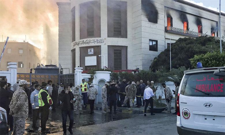 Attaque terroriste contre le ministère des Affaires étrangères