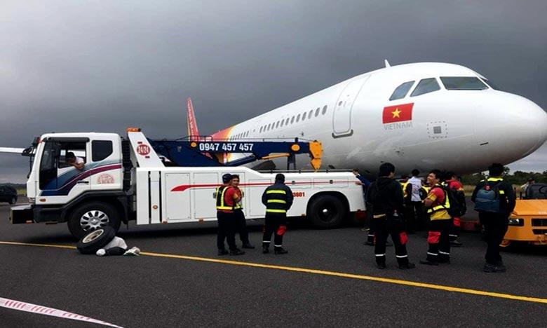 Un Airbus perd ses roues à l'atterrissage au Vietnam