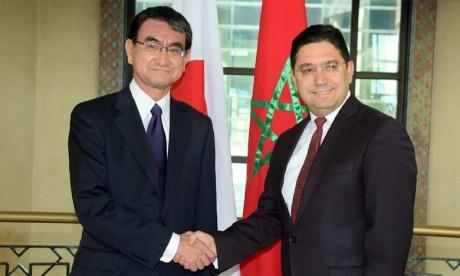 Le ministre japonais des Affaires étrangères :  Le Japon ne reconnaît pas la pseudo «Rasd»
