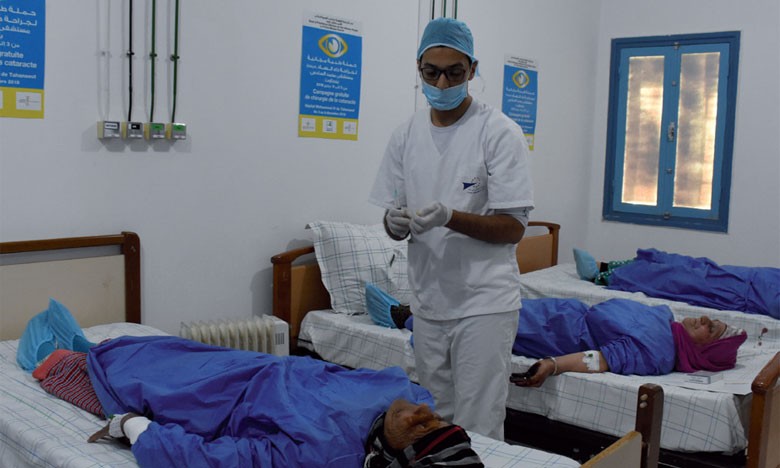 Campagne pour la chirurgie de la cataracte
