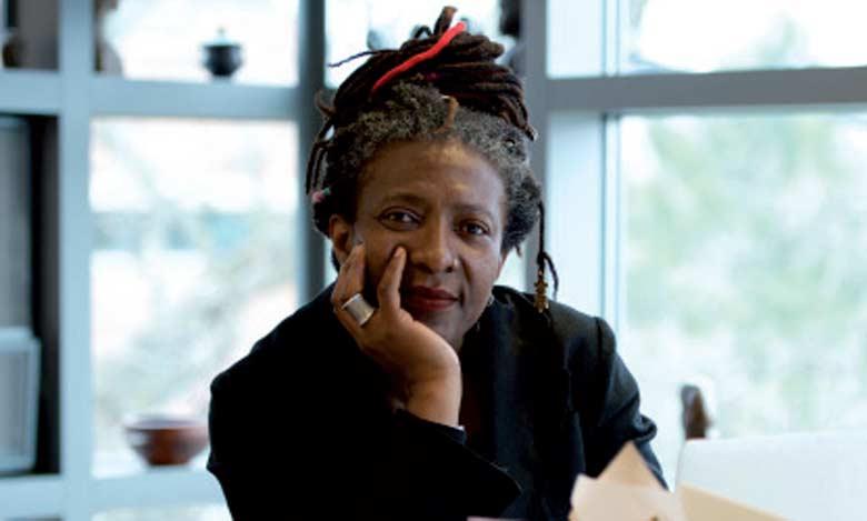 Frieda Ekotto, romancière et philosophe camerounaise, présidente d'honneur du festival.