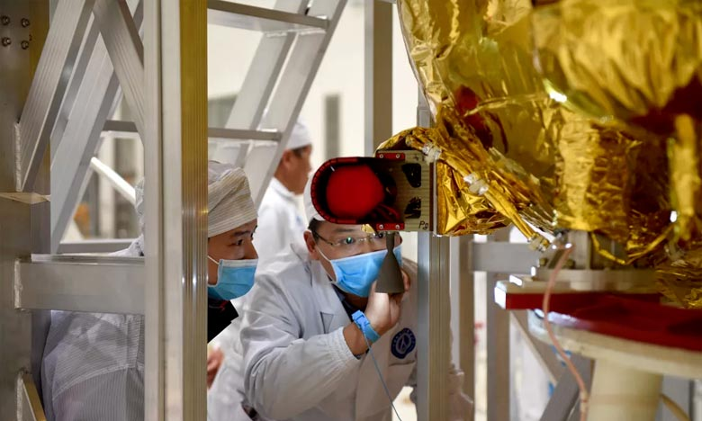 La Chine lance six satellites «Yunhai-2»