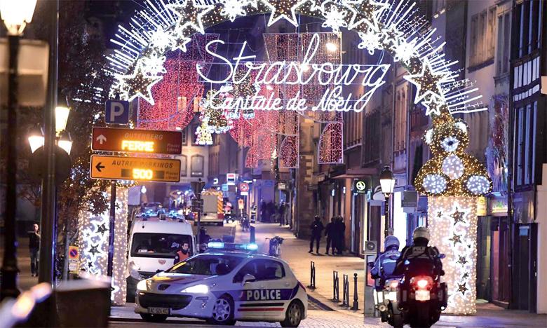 L'attaque a eu lieu au centre-ville de Strasbourg où se tient le marché de Noël.
