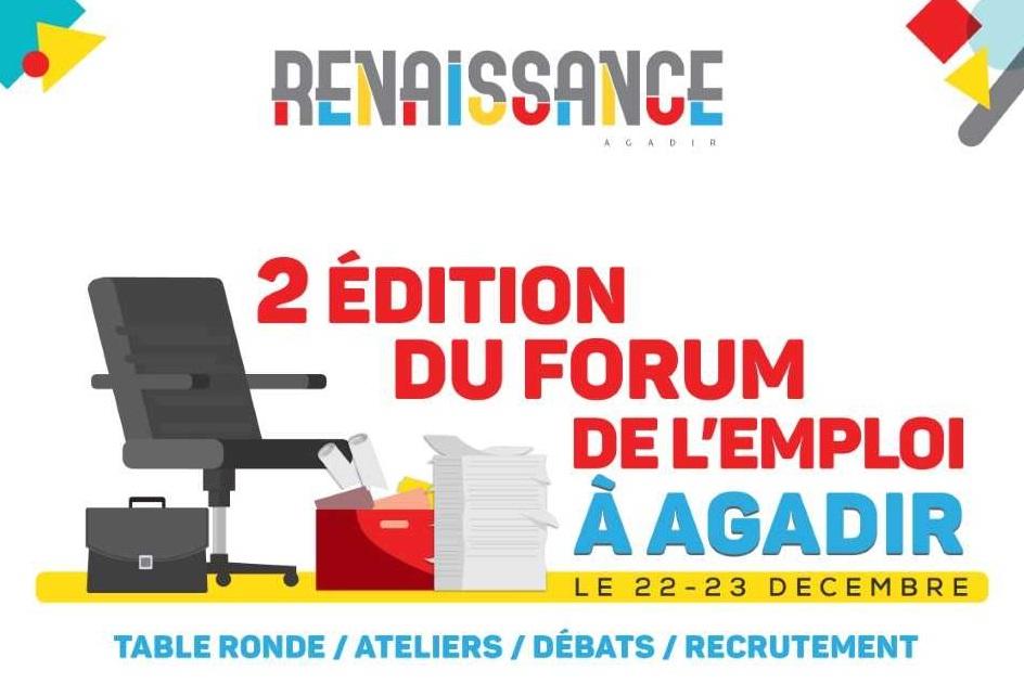 Agadir accueille le 2e Forum de l'emploi
