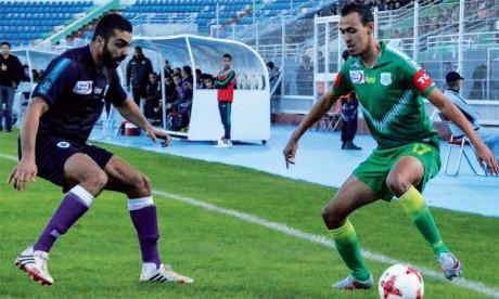 Le DHJ dispose du Mouloudia d'Oujda et se hisse à la troisième place
