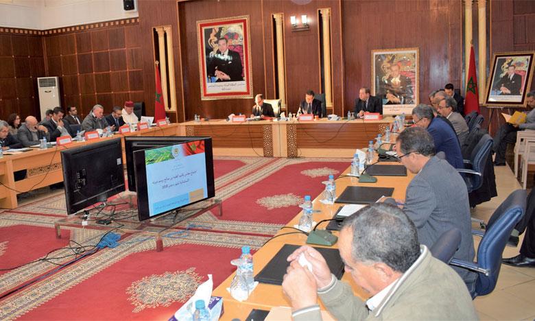 Le conseil provincial approuve plusieurs projets  de partenariat pour environ 936 millions de DH