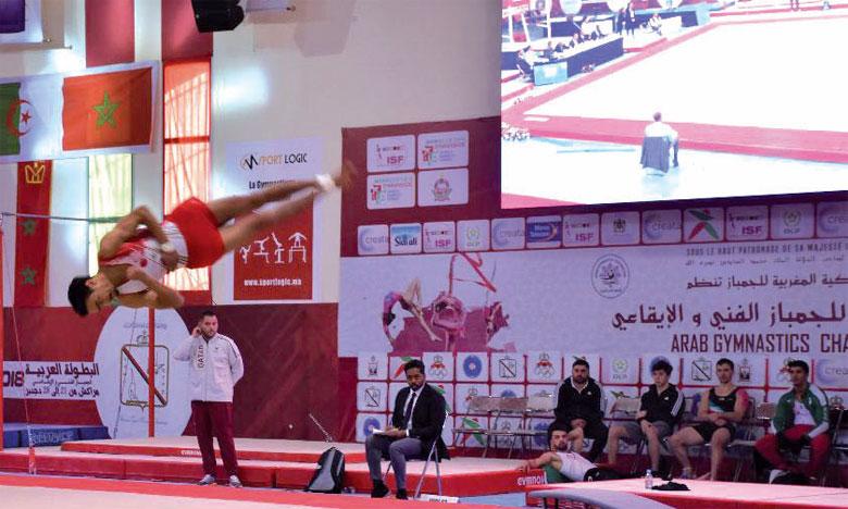 Hamza Houssaïni et Safia Moussaoui, les nouvelles révélations de la gymnastique marocaine
