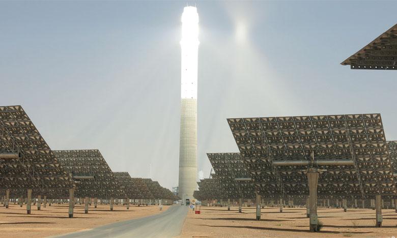 Le Souverain a donné ses Hautes Instructions afin que soient revus à la hausse les objectifs initiaux pour les énergies renouvelables à l'horizon 2030. Ph. SENER