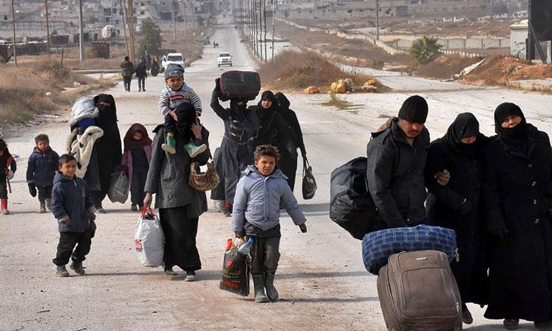 122 millions d'euros en faveur des réfugiés dans les pays voisins