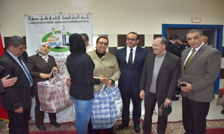 Derb Soltane : Le Père Noël est déjà passé au Centre de protection de l'enfance d'Al Fida