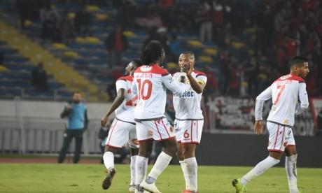 Le WAC remonte à la 2e place grâce à son large succès sur le Difaa El Jadida