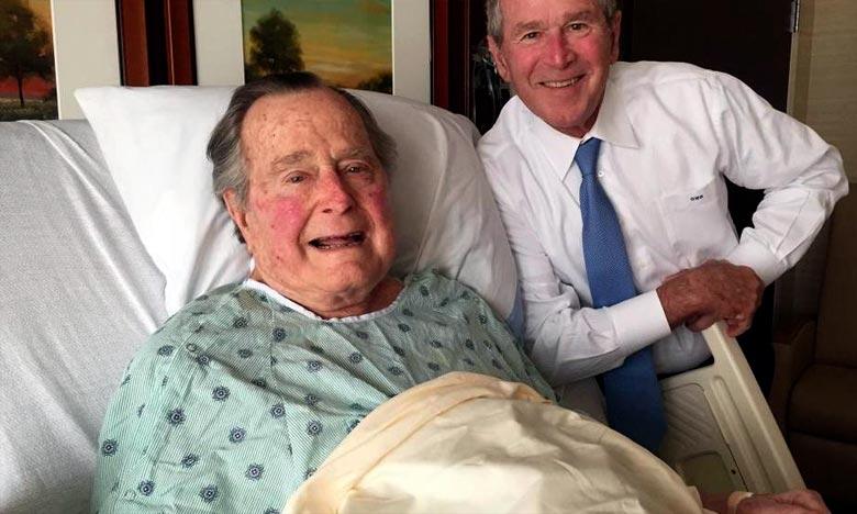 George H.W. Bush est décédé à l'âge de 94 ans, après avoir été le 41e président des Etats-Unis entre 1989 et 1993. Ph : DR