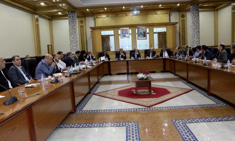 La rencontre a été l'occasion pour le ministre de rappeler «la ferme volonté» de son département de relancer  le débat pour améliorer le secteur.