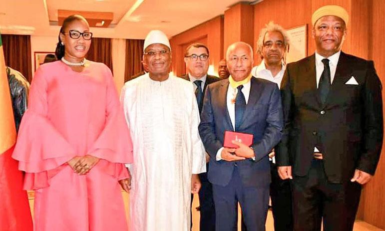 Le Président malien reçoit la délégation marocaine participant aux journées cinématographiques sur la migration