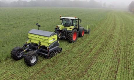 La superficie réservée à l'agriculture  de conservation en constante progression