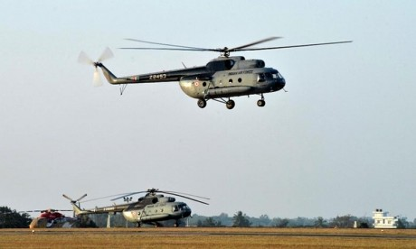 Crash d'un hélicoptère en Russie , 4 morts