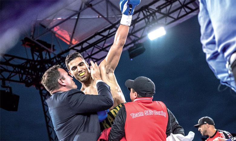 Mohammed Rabii: «Dans un an, je peux prétendre  à la ceinture mondiale»
