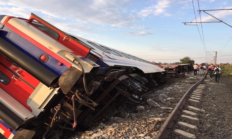 Turquie: au moins sept morts dans l'accident de train à Ankara