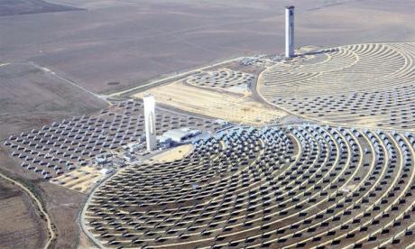 Pour pouvoir produire et stocker des combustibles propres, il faut disposer d'un  mix énergétique adéquat ce qui est le cas du Maroc avec le solaire et l'éolien. Ph. DR