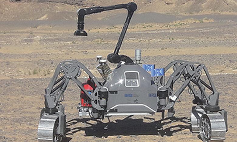 Des essais finaux de projets de robotique spatiale visant le développement  de l'exploration spatiale