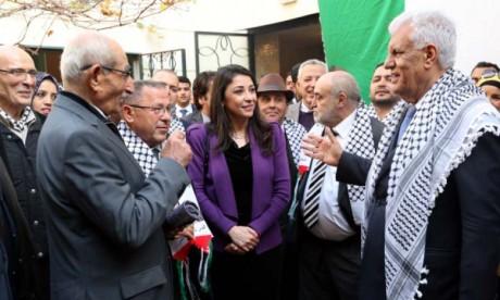 L'ambassade de Palestine célèbre le 54e anniversaire du déclenchement de l'Intifada