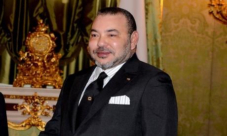 S.M. le Roi félicite les membres du club du Raja de Casablanca suite à sa consécration à la Coupe de la CAF-2018