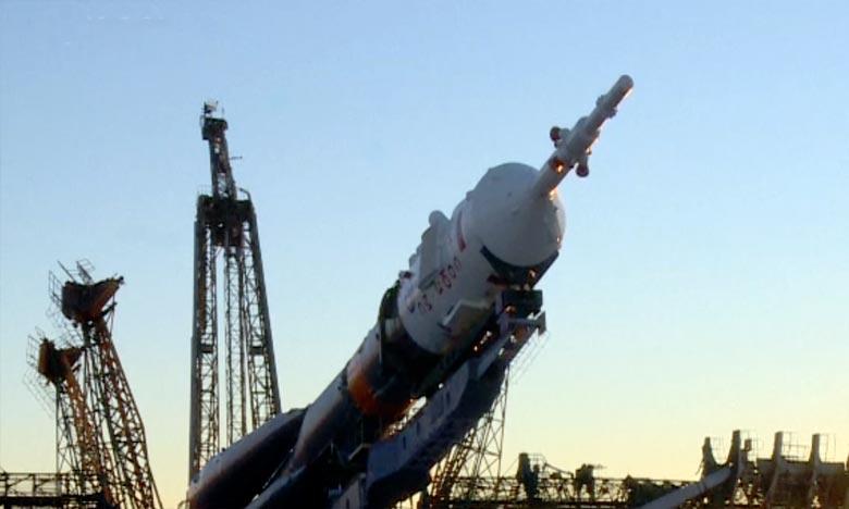 Premier vol habité vers l'ISS après un lancement raté en octobre