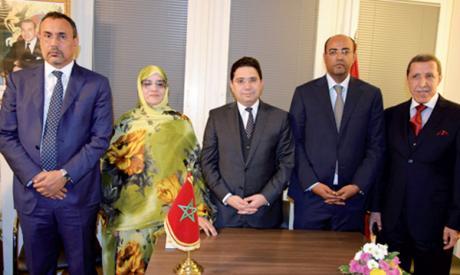 La participation des élus des provinces du Sud consacre leur statut en tant que porte-voix légitimes de la population sahraouie